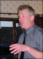 Alistair Boston of the Deer Initiative speaks to the club about woodland and deer management