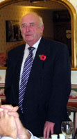 9 November 2010. Councillor Malcolm Smith