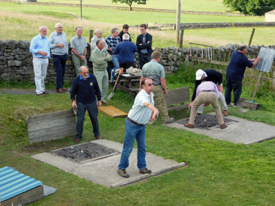 Upper Eden Rotary Club. Quoits Match