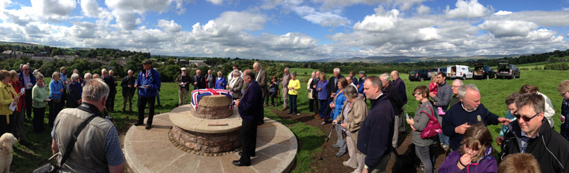 Christening of the Jubilee Cairn