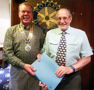 upper eden rotary club change over 2014