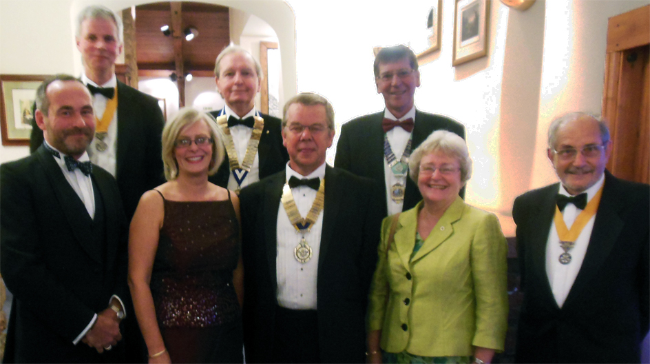 upper eden rotary club charter night 2014