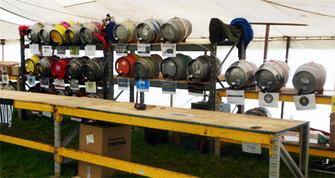 upper eden rotary club beer and bangers festival