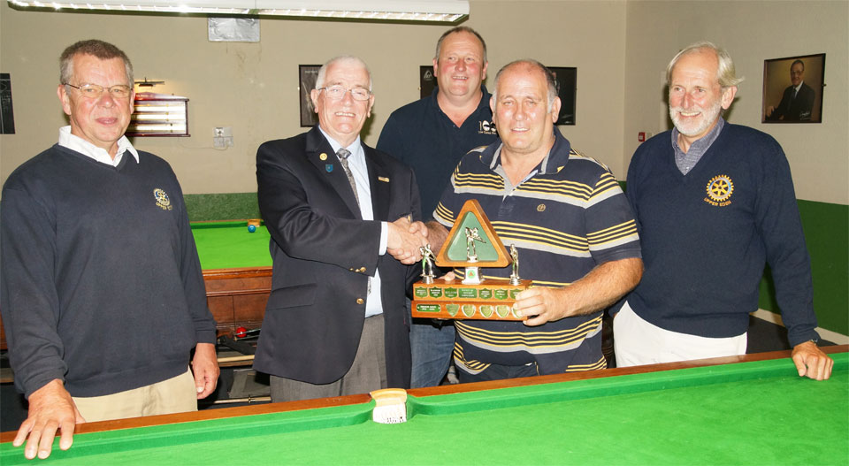 UERC. August 4th 2016. District Snooker Final