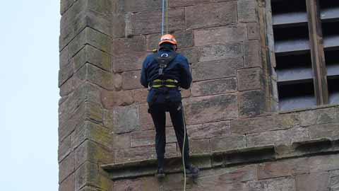 uerc abseiling