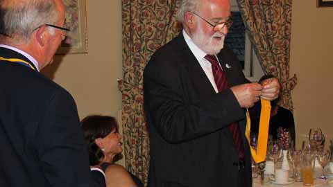upper eden rotary club change over 2017